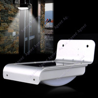 Wholesale 16 LED Solar Power Light Sound Sensor Outdoor Wall Light Lamp Home Security TK1400