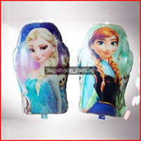 Wholesale 43 CM Aluminum Foil Froze Helium Balloons Froze Party Supply Anna Elsa Theme Chrismas Party Decorations Froze Balloons Pieces