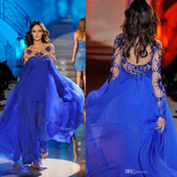 Cheap Reference Images Evening Dress Best Crew Chiffon Prom Dress
