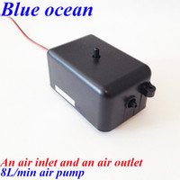 air compressor parts - BO AP AC220V AC110V L min air pump Air compressor ozone generator parts low noise air pump for aquarium air pumps for aquariums