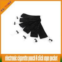 Wholesale 20PCS E cigarette Mech mod pouch ego ce4 kit bag Necklace String Lanyard Neck Sling Rope Round Corner Case click N vape pocket Pen Bag