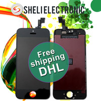 Cheap For Apple iPhone original iPhone 5S LCD Best LCD Screen Panels TFT LCD Display replacement