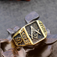 big fashion rings - fashion big rings for men masonic jewelry k gold stainless steel wedding ring