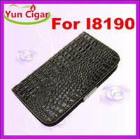 Cheap For Samsung s3 crocodile wallet case Best Leather  mini i9180 crocodile case