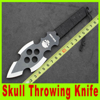 dive knife - 201409 New skull throwing knife diving knife outdoor survival knives Hunting Fighting Knives Pocket Knife utility knife camping knife A310X