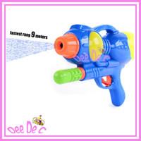 Guns & Bows 3 & 4 Years unisex Hot sale children sand water gun by air pressure kids' water pistols fastest range 9 meters,free shipping