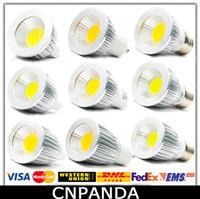 Wholesale Reasonable Price COB Led W W W Bulb Light Dimmable GU10 E27 E26 E14 MR16 Led Spot Light Warm Pure Cool White Lamp V CE RoHS UL