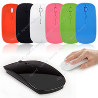 mouse usb - Slim GHz Wireless Optical Mouse Mice USB Receiver for PC Laptop Colors SV001847