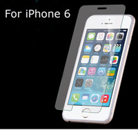 Wholesale For iPhone6 inch Tempered Glass Screen Protector HD Toughened Protective Film Slim mm with Retail package