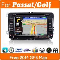 Wholesale 2 din Car DVD gps player radio for VW Fox Bora Polo sedan golf Jetta passat GPS Bluetooth Canbus steering wheel control free map G