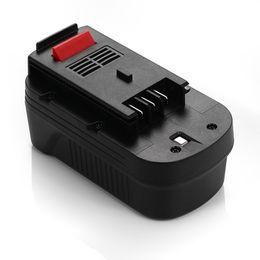Wholesale 18V mAh Replacement Battery for Black Decker HPB18 HPB18 OPE A1718 A18 A18E Firestorm FS180BX FS18BX FS18FL FSB18 NST2118
