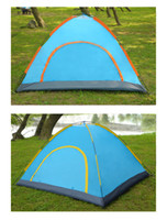 Wholesale Double deck door Waterproof Sports Camping Person Family Tent