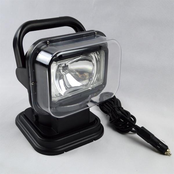 HID пятно ксенон 55 Вт Свет работы 360 магнитный HID ксенон прожектор автомобиля SUV прожектор беспроводной дистанционного вождения лампы Рыбалка огни