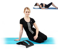 Wholesale Spine massage Magic Back Support waist back braces back pain stretching device stretch back massage