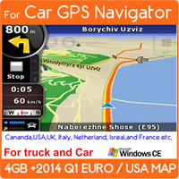 Wholesale 2014 Car DVD GPS IGO MAPs SD CARD TF Micro SD card GB Memory card with europe USA italy canada france UK netherland spain map