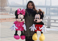 mickey mouse plush toy - Hot sale CM Hot Sale new ONE American Lovely Mickey Mouse Or Minnie Mouse Stuffed animals plush Toy