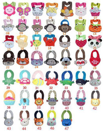 Wholesale Baby bibs dimensional shape soft baby clothes accessories can be washed colors baby bib