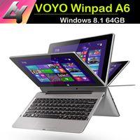 Wholesale With Keyboard VOYO Winpad A6 inch Windows laptops pc Tablet bit CPU intel Baytrail T Z3740D IPS screen GB GB Bluetooth