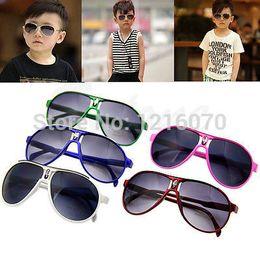 Wholesale M112 quot Fashion Cute Children Girl Boy Baby Kids AC Lens PC Frame UV Sunglasses New
