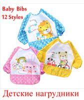 Wholesale 1pc Waterproof Baby Bib Cartoon Series Baby Towel Bibs Burp cloths Baby Feeding Smock