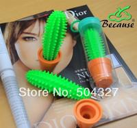 Wholesale EMS Pieces Spike Pen Cactus Pen Funny Cactus Ballpoint Pen with Plant Pot