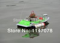 Wholesale 2 hour mini RC Bait Fishing Boat M remote control fish finder adventure boat fishing Car charger