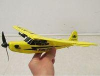 DJI QR Y100 Electric NEW Unique Toy Sea gull 803 RTF PIPER J3 CUB Rc Airplane Super Glider 3PCS Free Shipping