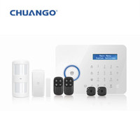 Wholesale wireless dual network PSTN and GSM burglar security alarm system Chuango B11