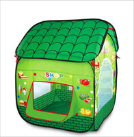 Tents Animes & Cartoons Polyester Factory price 2014 Children's tent game house outdoor fun & sports play house kids tent brand Pop Up toy tent Free Shipping