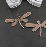 Wholesale DIY Fashion Jewelry components and findings MM antique copper dragonfly pack