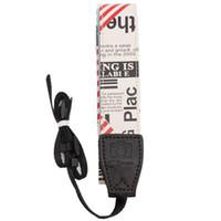 Wholesale 1pc Universal Neck Shoulder Strap Camera Single Shoulder Sling Belt Strap for SLR DSLR Cameras FK672210