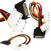 Wholesale pratical Dual Pin IDE to Pin Serial Hard Drive Adapter Power Cable L01555