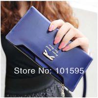 Wholesale 2014 New Korean Fashion women wallets woman messenger bag women s design wallet Long Wallets cute bow for women