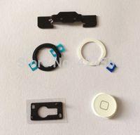 airs repair kit - Repair Part Kit for iPad Air Home Button Holder White Home Button Pad Ring home button in