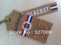 Wholesale accept small order quantity custom made hang tag and swing tag manufacturer customized tags tags for clothing
