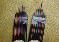 Wholesale sets mm Mechanical Pencil refill Colored Lead Refills Colored pencil lead