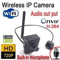Wholesale Wireless ip camera Hidden P hd wifi mini cameras cctv security home system onvif webcam speakers audio door cam
