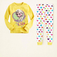 al por mayor ropa congelados 2t-Pijamas 6sets congelados para las muchachas del algodón de los niños de los pijamas de Spiderman Niños bebés ropa del PJ / envío T12 mucha caída