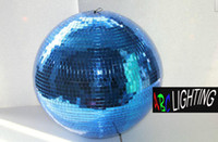 Wholesale quot diameter Color glass mirror ball cm for disco DJ home party night club stage light ABC CMB inch