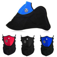 Wholesale S Color Neoprene Winter Neck Warm Face Mask Veil Sport Motorcycle Ski Bike Biker