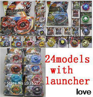 Wholesale pcsbeyblades models with launcher