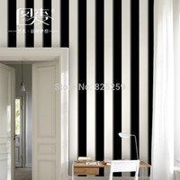 Wholesale 0 x10square meter roll Stripe Ocean Style background wallpaper papel de parede