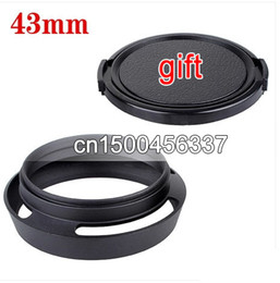 Wholesale Metal Lens Hood mm Dimensions Optional For M42 M43 Leic Lens cap Protection Cover For Canon Nikon Olympus