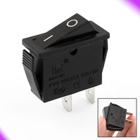 Wholesale AC A V A V Pins ON OFF Cuboid Shaped Car Rocker Switch