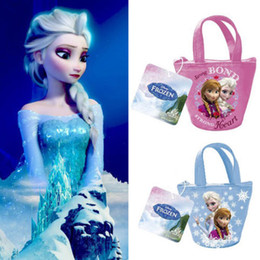 Wholesale Details about FROZEN Kids Coin Wallet Change Purse Bags Girl Accessories Gifts Elsa Snow Queen