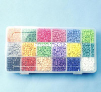 Wholesale 5mm Perler Beads kits Hama beads sets Boards colors Per Package EVA beads Hot sale diy educational toys craft