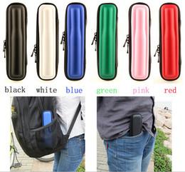 E cig bag for ego e-cig case E cig bag electronic cigarette Zipper Carry Case for CE4 atomizer CE5 clearomizer EVOD ego twist single kit