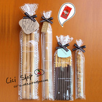 Wholesale 120 Clear Lace Finger Cookie Bag Christmas Bakery Gift Cellophane Bags YN