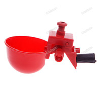 chicken feed - Laciemart Bird Coop Automatic Feed Poultry Water Drinking Cups Chicken Fowl Drinker High Quality