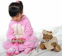 Boy Summer 0-12M The baby Pink Rabbit cartoon Siamese pajamas winter home furnishing service climb clothes ha clothes sleeping bag